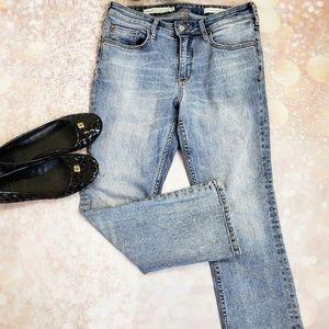 Pilcro & the Letterpress High-Rise Crop jeans 29
